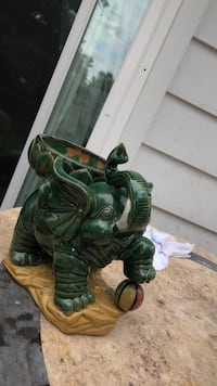 green and brown ceramic dragon figurine Temple Hills, 20748