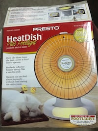 Presto HeatDish with footlight