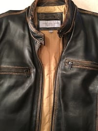 Mens Marc New York Leather Jacket Munster, 46321