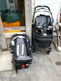 Gracie stroller and infant carrier Caledonia, N3W 2A4