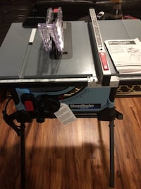(Brand New) ShopMaster Delta table saw.