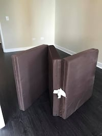 Your Zone Flip Chair Convertible Bed / Chair / Stand
