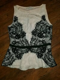 Nude and black lace top by LOFT St. John's, A1B 0B2