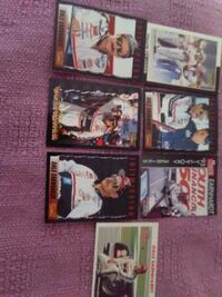 7 Dale Earnhardt trading cards for $5