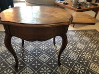Thomasville French Court Brown wooden drop leaf table New York, 10026