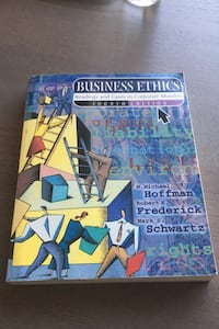 Business ethics - reading and cases in corporate morality kitap.