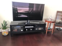 IKEA TV Stand - Solid Wood - Black North Vancouver, V7M 2M9