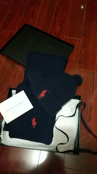 Polo Hat Scarf Gift Set