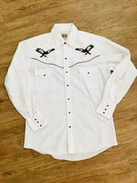 Men's Ely Cattleman western eagle button up size medium Oklahoma City, 73145