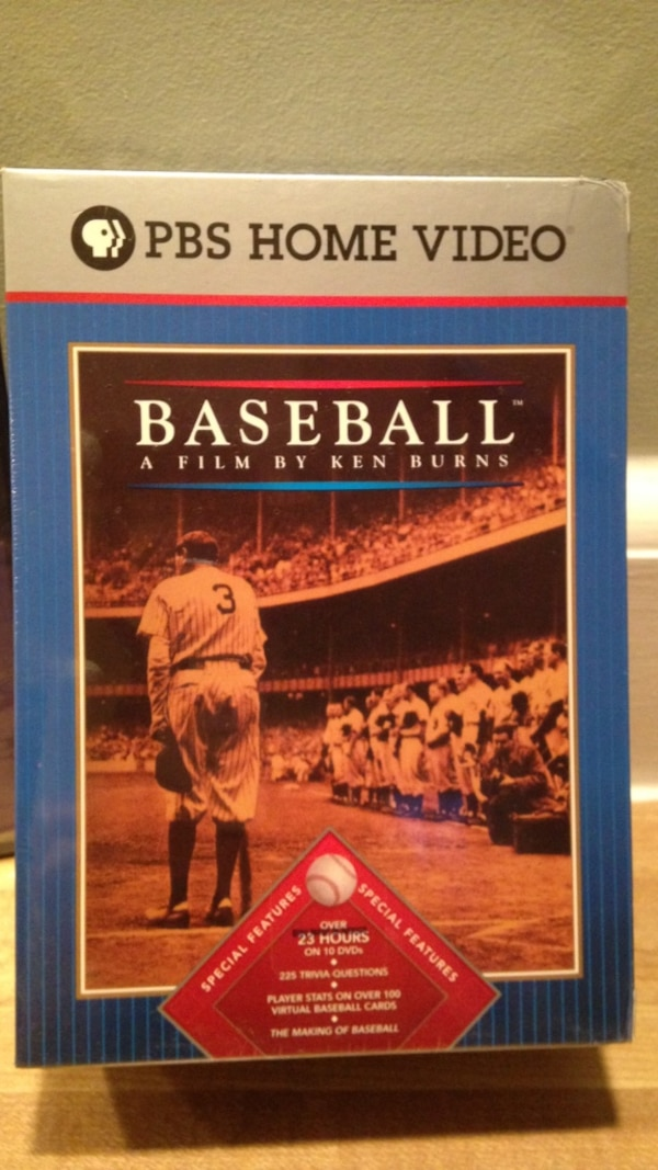 Used 10 Dvd Pbs Home Video Collection Baseball A Film By Ken Burns