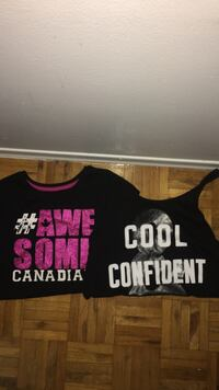 small woman's shirts and tank tops Mississauga, L5N