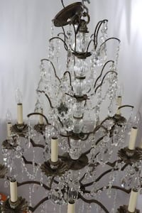 Schonbek 15 Light Crystal Chandelier - 5773L Hapeville