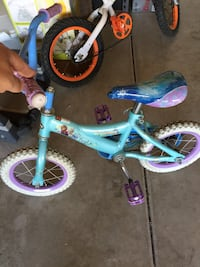 toddler's blue and pink bicycle Fresno, 93727