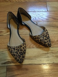 pair of brown-and-black leopard print pumps Nashua, 03060