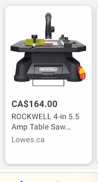 Rockwell saw