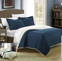 SALE Brand New King Size Reversible Quilt Set  Aurora, L4G 6T5
