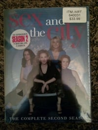 SEX And The CITY Complete Season 2 (DVD) NEW! Lewisville, 75067