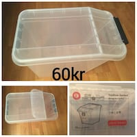Storage Box 58 liters purchased just 3 months back  Oslo, 0161