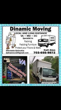 Long distance moving Alexandria