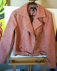Rose faux suede zip-up jacket San Diego, 92103