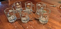 clear glass beer mug lot Salaberry-de-Valleyfield, J6S 1Z9