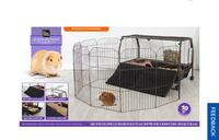 Guinea pig/small animal playpen habitat. (Used))