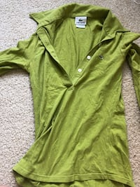 Green Lacoste shirt Rockville