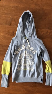 gray and yellow pullover hoodie Springwater, L0M