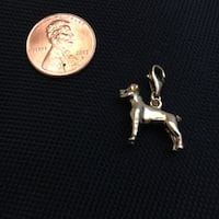 Dog Charm *Gold Plated Sterling Silver  Virginia Beach, 23454