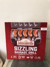 Johnsonville Sizzling Sausage Electric Grill Chino, 91710