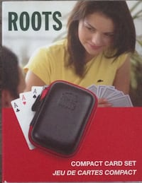Brand New! ROOTS Compact Card Set BURNABY