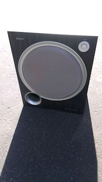 """SONY 100w Powered Bass Active 10"""" Subwoofer   Tucson, 85711"""