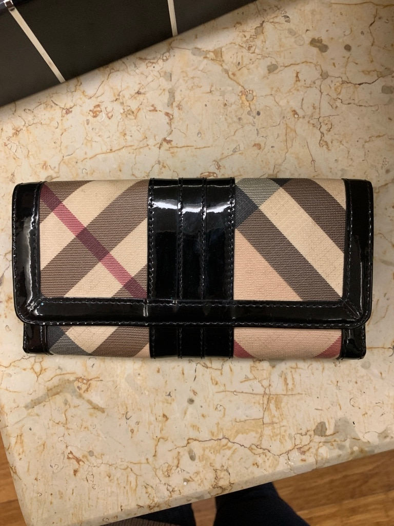 Photo Burberry Multicolor Penrose Continental Wallet