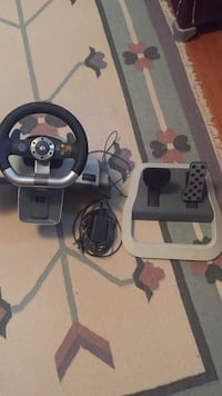 Xbox 360  steering wheel game controller Washington, 20015