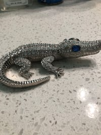 Faux Diamond encrusted alligator