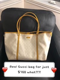 100% authentic Gucci bag , very strong can fill almost anything! You name it laptop , textbooks, iPads , w.e you need it's like the never full LV bag ;)  used but good condition final price  791 km