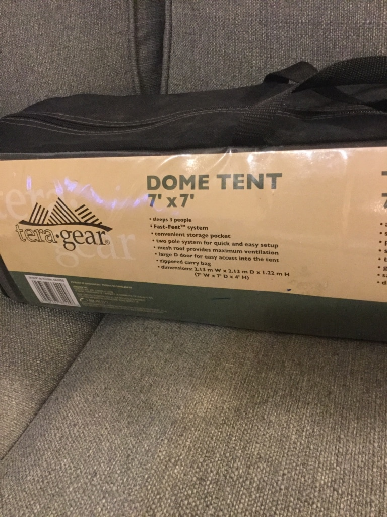 MORE INFO & Tera-Gear 3 person dome tent **BRAND NEW** in Edmonton - letgo