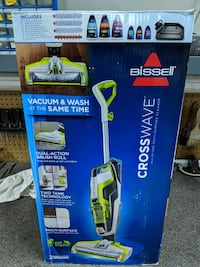 Bissell upright vacuum cleaner box