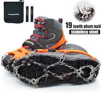 Brand new Ice Cleats Crampons Traction Snow Grips for Boots Shoes  马卡姆, L6E 2E3