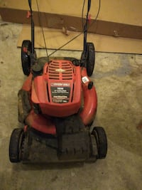"@$25.  Lawn Mower- Troy- Bilt 21"" High Rear Wheel,"