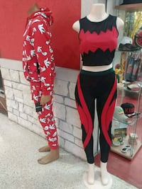 red and black Fox pants Houston, 77036