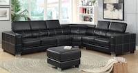 New luxury leather sectional couch  Los Angeles