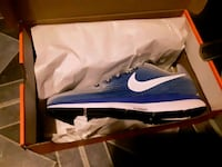 blue-and-white Nike running shoes in box St. Louis, 63118