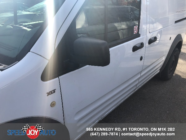"2012 Ford Transit Connect 114.6"" XLT w/rear door glass"