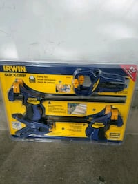 New IRwin Quick Grip $30  West Valley City, 84119