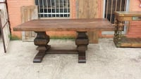 Brown Sierra Sinta Table Laredo, 78040