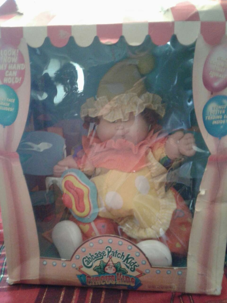 Used, cabbage patch kids circus kids box for sale  Delhi