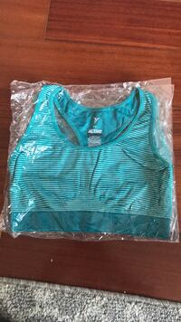teal and white stripe tank top Rowland Heights, 91748
