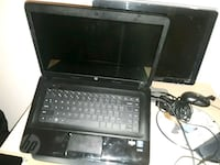 black HP laptop with AC adapter Washington, 20002