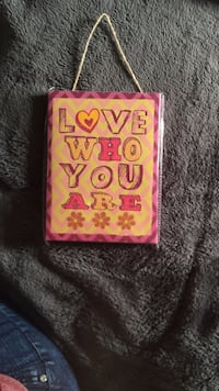 pink and white Love Pink iPhone case 2381 mi